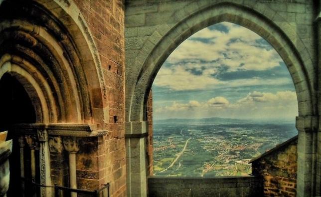 Vista dalla Sacra di San Michele