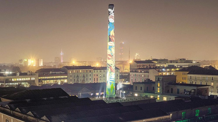 Milano - Ciminiera Branca