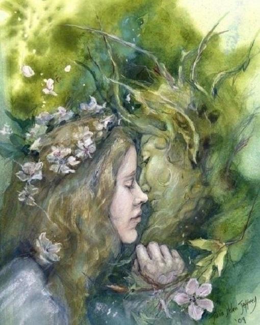 L'Uomo Verde e la Dea della Primavera