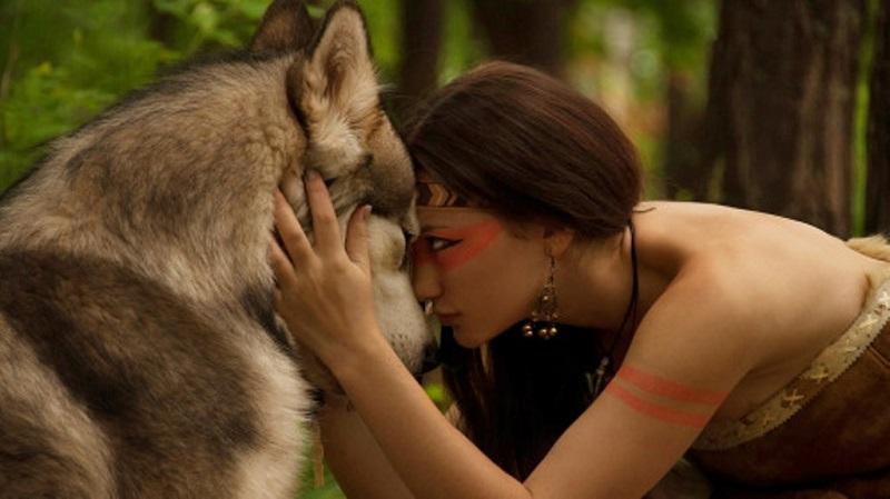 La fanciulla e il lupo