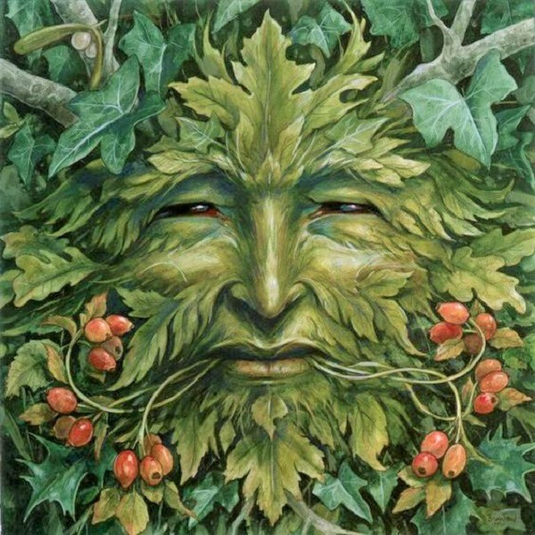 The Green Man - Heart of Faerie Oracle