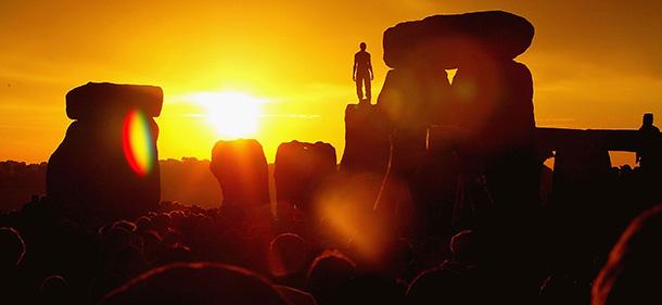 Megaliti al tramonto