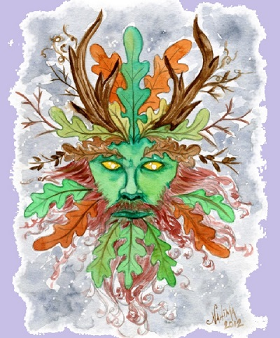The Green Man by Nahima