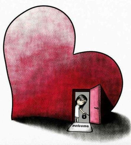Welcome heart