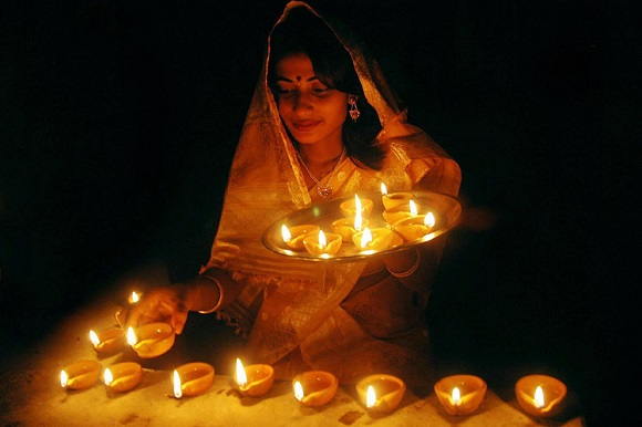 Diwali lumini