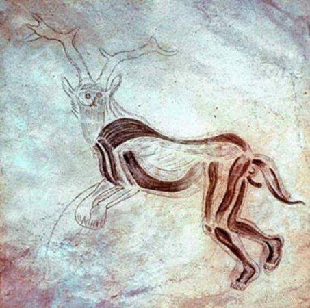"""Lo """"sciamano"""" della grotta di """"Les Trois Freres"""""""