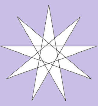 Stella nove punte