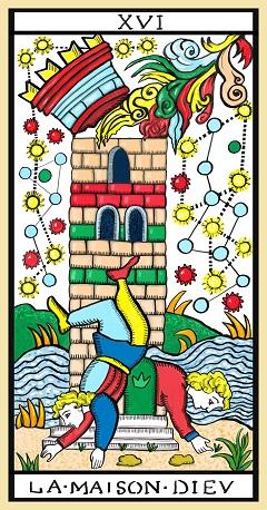La Torre - arcano XVI