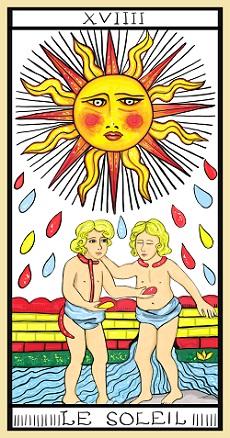 Il Sole - Tarocchi di Marsiglia