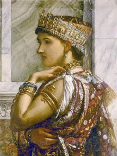 Sir Edward Poynter - Zenobia